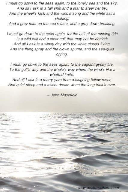 Sea Fever, John Masefield