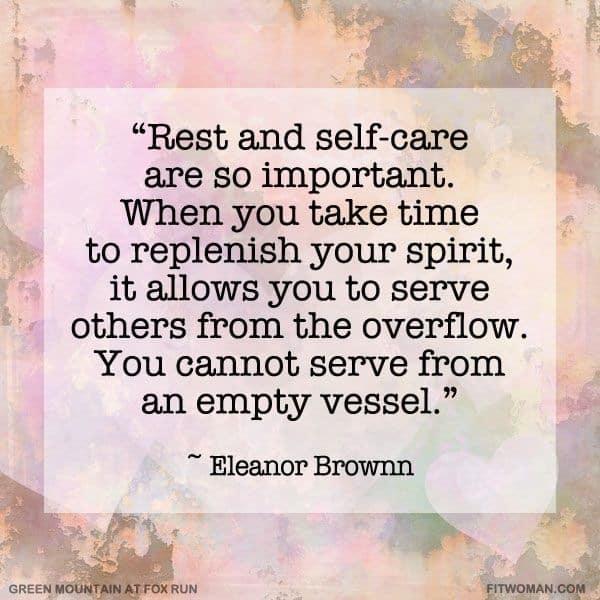 self-care, Elanor Brownn