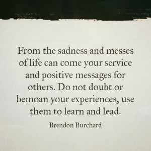 Brendon Burchard, messes, learn