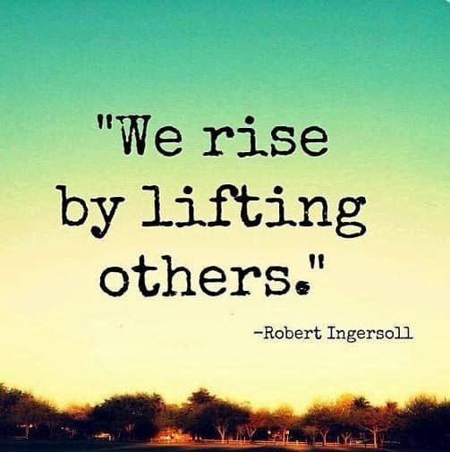 rise by lifting others, mentoring